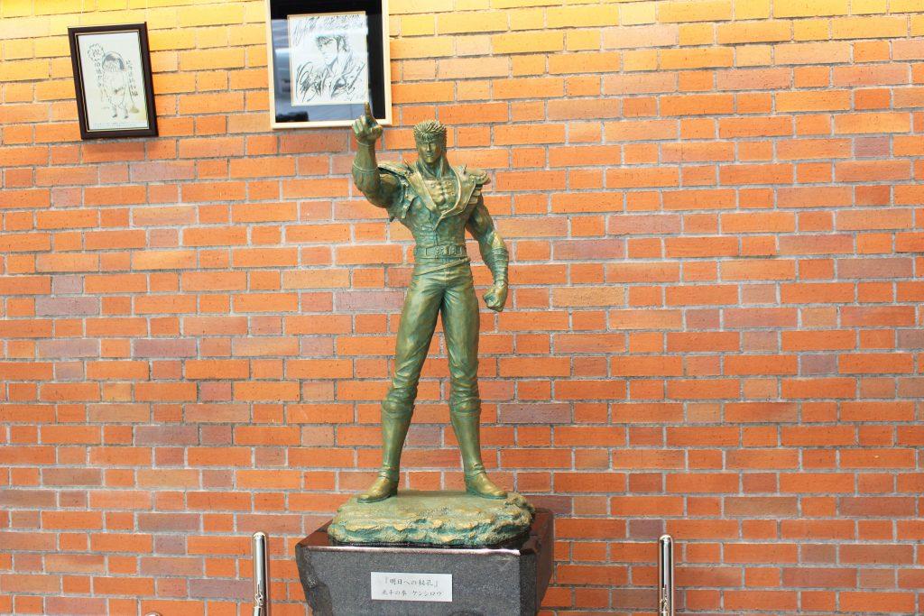 北斗の拳銅像