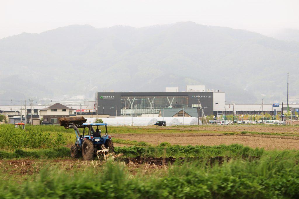 新函館駅遠景