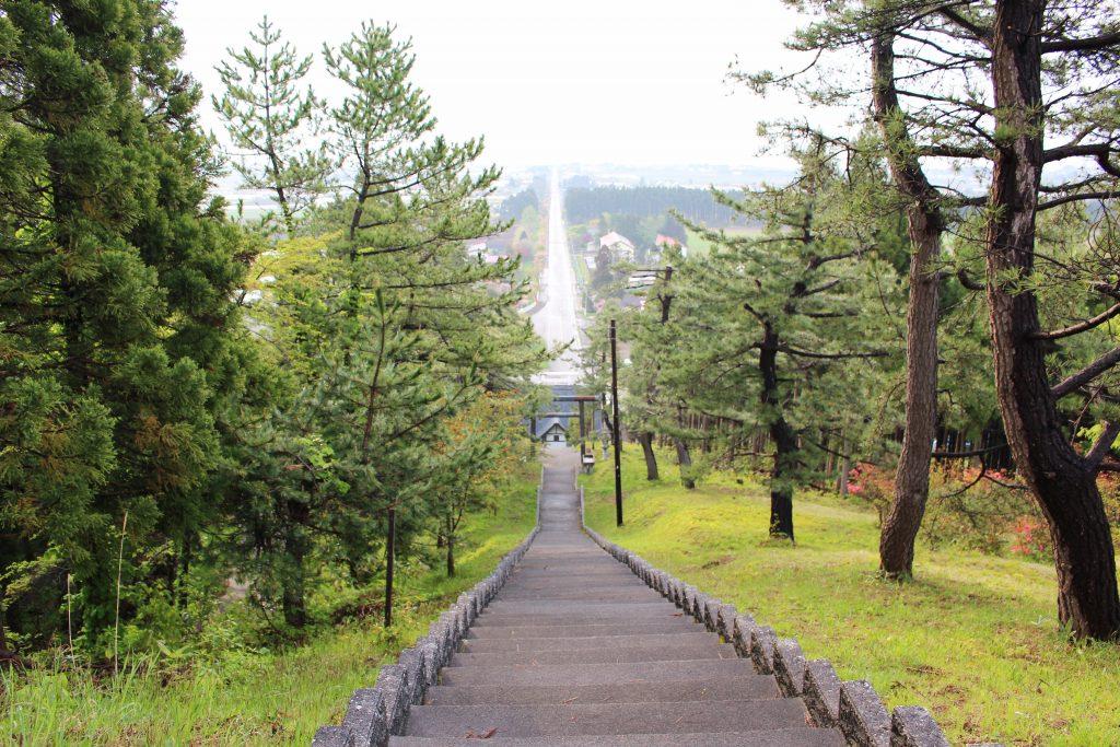 重内神社階段