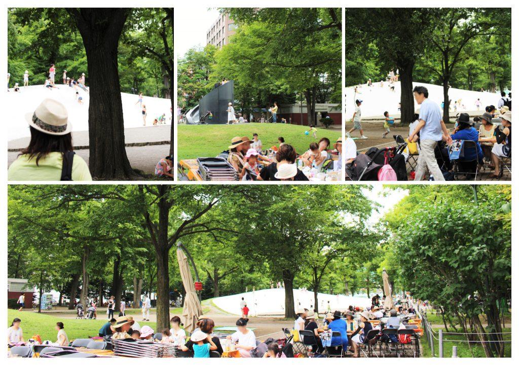 サッポロ会場公園1_collage