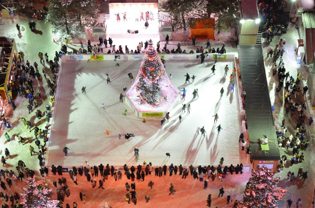 2011第62回ゆきまつり1丁目スケートリンク